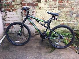 Men's bike - Pro MuddyFox dual suspension