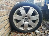 4 winter tyres with lots of tread