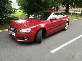 Audi A5 NEW PRICE 2.0 tsfi Stunning Red Car