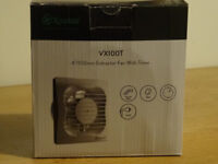 Xpelair VX100T Extractor Fan with Timer