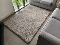 Natural colour slumber shaggy rug for sale