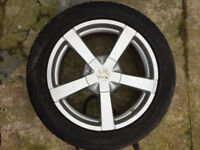 "Fox Alloy wheels 17"" inch 5x108 5x114 Volvo Citroen c4 c5 c6 Fiat scudo Suzuki swift alloys wheel"