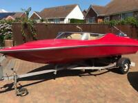 Simms Super V Speed Boat/Powerboat with 50hp Yamaha Outboard, used for sale  Exmouth, Devon