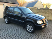 2005 MERCEDES ML 270 CDI SPECIAL EDITION