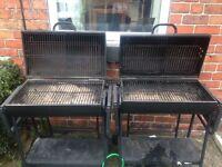 2x lovo premium charcoal bbqs