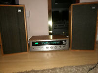 Rotel Vantige Amplifier with wharfedale speakers