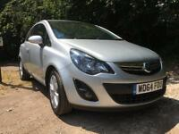 Silver Vauxhall Corsa Excite 1.2L 1299cc