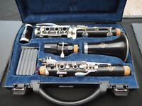 Bb Buffet Crampon clarinet, E11 model wooden clarinet
