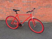 Fix Gear Bike - Red