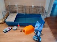 Used large indoor guinea pig cage