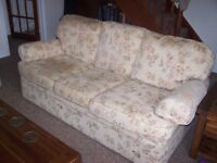 Marks And Spencers Two Three Seater Sofas Good Condition Washable Cushion Covers