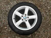 Original BMW & VW T5-T6 5x120 225/50/17 Alloy Wheels with New tyres, like new