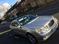 2003 53 reg Mercedes E320 CDI AVANTGARDE AUTO