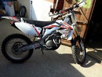 CRF450 54 2005 road legal enduro dual sport + loads of spare bits and bobs