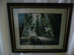 Home Interiors Nib Thomas Kinkade Framed Print Only One On