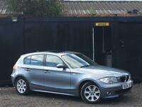 ★ BMW 1 SERIES 120i AUTOMATIC + SUNROOF + HEATED 1/2 LEATHERS + 12 MONTHS MOT ★