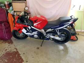 Cbr 600f 1 owner from new