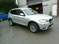 2011 BMW X3 Se Auto full history Moted 29/06/17 Very nice car ( can be viewed inside anytime)