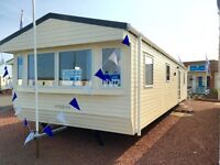 BRAND NEW STATIC CARAVAN FOR SALE - 2 MASTER BEDROOMS - FINANCE AVAILABLE - 2017 SITE FEES INCLUDED