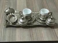 Authentic Turkish coffee set / or espresso