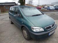 Vauxhall Zafira 16V Club 7 seater