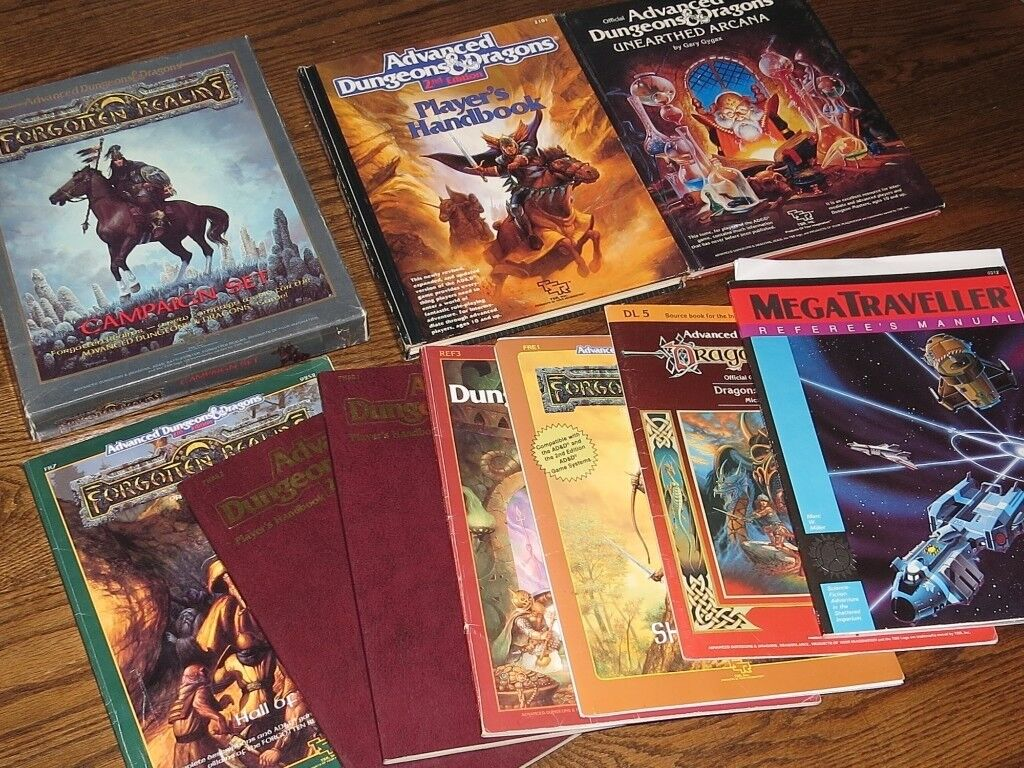 Ten Dungeons & Dragons books   in Bathgate, West Lothian   Gumtree