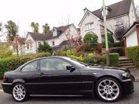 STUNNING! INDIVIDUAL! (2004) BMW 330 Ci M SPORT AUTOMATIC ONE LADY OWNER/FBMWSH/YELLOW NAPPA LEATHER