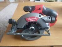 Milwaukee 12v circular saw