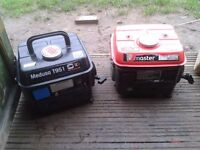 petrol generators two off sip spares or repairs