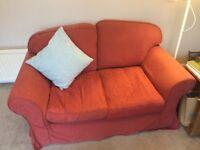 2 seater sofa & matching armchair