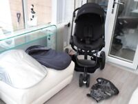 quinny modd pushchair with accessories VGC