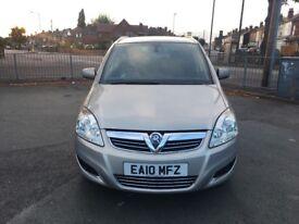 Vauxhall Zafira 1.6 Petrol 2010