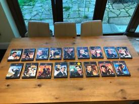 20 James Bond DVD's