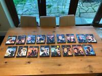 20 James Bond DVD's