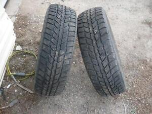 Two 196-65-15 snow tires $50.00