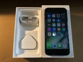 iPhone 7 32GB EE Virgin BT Asda Mobile Perfect Condition Mint Box and Genuine Charging Lead and Plug