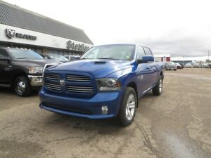 2016 RAM 1500 SPORT CREW LEATHER! EXTENDED WARRANTY!!