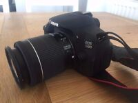 Canon EOS 700D 18.0MP SLR Camera - Black EF-S 18-55mm IS STM