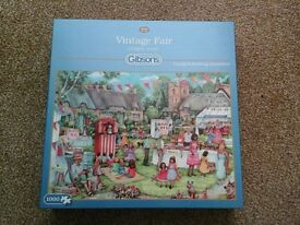 5 Boxes of Jigsaw Puzzles 1000 pieces