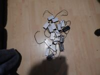Seventeen Humbucker Pickups, New and working but all with broken fixing brackets.