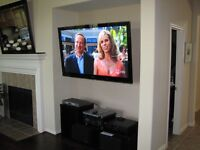 "42"" Samsung full HD freeview built"