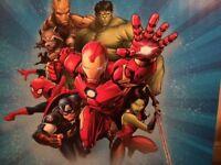 Avengers room decor