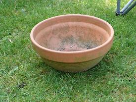 Terracotta plant pot - Dereham location