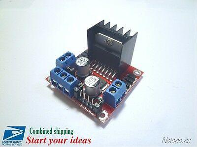 Dual H Bridge Stepper Motor Drive Controller Board Module For Arduino L298n