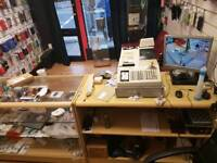 Running mobile Phone shop 4 sale next to town&train station v busy area £5000