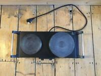 Duronic Double Electric Hob