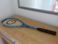 Lightweight Grays Graphite Squash Racket