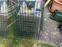 Bundle greenhouse shelves