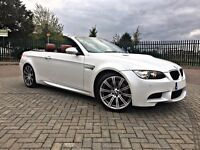 2011 BMW M3 E93 4.0 DCT Convertible - EDC FBMWSH - Mineral White Red Leather -Immaculate Condition