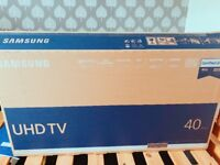 """40""""UHD TV ONLY 5 months old"""